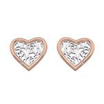 Støíbrné náušnice Hot Diamonds Luxury DE530