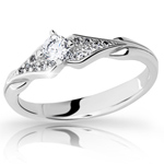 Prsten s brilianty Danfil DF2104