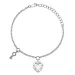 Stříbrný náramek Hot Diamonds Love DL560