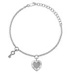 Støíbrný náramek Hot Diamonds Love DL561