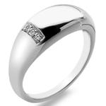 Stříbrný prsten Hot Diamonds Belle