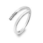 Stříbrný prsten Hot Diamonds Glide