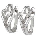 Zlaté náušnice AVRO Diamonds EGDIA128