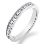 Støíbrný prsten Hot Diamonds Emozioni Infinito