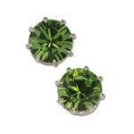 Náušnice s krystaly Swarovski Green