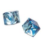 Náušnice s krystaly Swarovski Poezia Blue