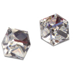 Náušnice s krystaly Swarovski Poezia Crystal