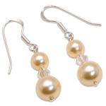 Náušnice s perlami Sunlit Pearl Light Gold I