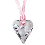 Přívěsek s krystaly Swarovski Wild Heart Crystal Pink