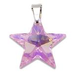 Stříbrný přívěsek s krystalem Swarovski Star Rosaline