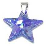 Stříbrný přívěsek s krystalem Swarovski Star Sapphire