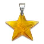 Stříbrný přívěsek s krystalem Swarovski Star Topaz