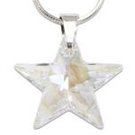 Stříbrný náhrdelník s krystalem Swarovski Star Crystal