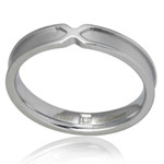 Ocelový prsten s briliantem GRSD30-BRIL