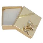 Dárková krabička na náušnice Celebration Gold