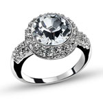 Prsten s krystaly Swarovski Oliver Weber More 41038-001
