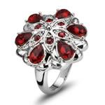 Prsten s krystaly Swarovski Oliver Weber Folk 2467-208