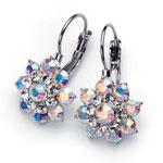 Náušnice s krystaly Swarovski Oliver Weber Flores 22216-001