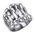 Prsten z chirurgické oceli RSS875-STEEL
