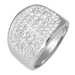 Prsten s krystaly Swarovski RSSW10-CZ