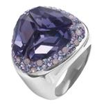 Prsten s krystaly Swarovski RSSW14LSAPPH
