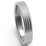 Dámský ocelový snubní prsten RZ04800