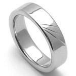 Pánský ocelový snubní prsten RZ05010