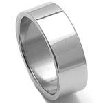 Pánský ocelový snubní prsten RZ08000