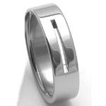 Pánský ocelový snubní prsten RZ86010