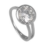 Stříbrný prsten Chiara Circle SAFM0-R6