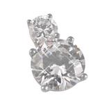 Stříbrný přívěsek Chiara Circle SAPZ1-N4