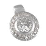 Stříbrný přívěsek Chiara Circle SCIF1-N12