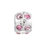 Přívěsek Morellato Drops Pink Nuance CZ161