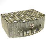 Šperkovnice JKBox Cube Green SP290-A19 - II.jakost