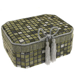 Šperkovnice JKBox Cube Green SP291-A19 - II.jakost
