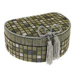 Šperkovnice JKBox Cube Green SP292-A19 - II.jakost