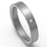 Dámský titanový snubní prsten TTN0702