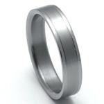 Pánský titanový snubní prsten TTN0901