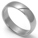 Dámský titanový snubní prsten TTN1202