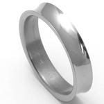 Pánský titanový snubní prsten TTN1501