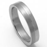 Pánský titanový snubní prsten TTN1801