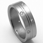 Dámský titanový snubní prsten TTN2402