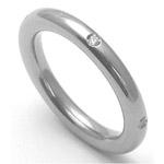 Dámský titanový snubní prsten TTN3202
