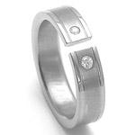 Dámský titanový snubní prsten TTN3402