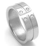 Dámský titanový snubní prsten TTN3502
