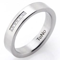 Prsten s diamanty TeNo Basix 069-01P02