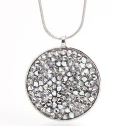 Náhrdelník s krystaly Swarovski Rock 30 11300553CR