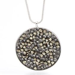 Náhrdelník s krystaly Swarovski Rock 30 11300553MLGLD