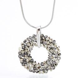 Náhrdelník s krystaly Swarovski Rock 30 11300658MLGLD