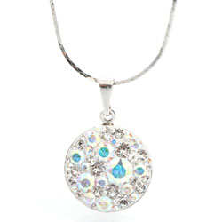 Crystalis náhrdelník Rivoli Rainbow